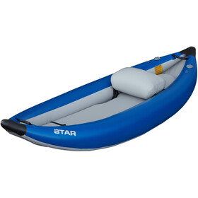 NRS STAR Outlaw I Inflatable Kayak blue